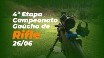 [PROVA CANCELADA] - Campeonato Gaúcho de Rifle